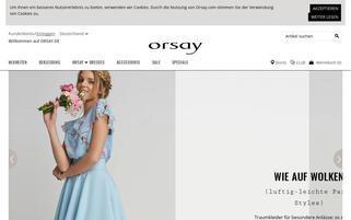 orsay.com Webseiten Screenshot