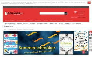 OSIANDER Webseiten Screenshot
