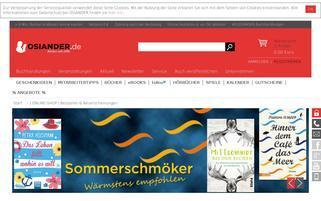 OSIANDER Webseiten Screenshot