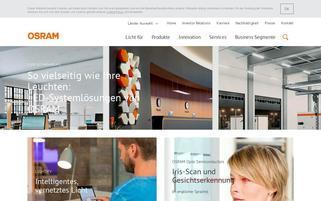 osram-shop.com Webseiten Screenshot