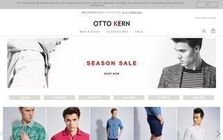 OTTO KERN Webseiten Screenshot