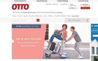 ottoversand.at Webseiten Screenshot