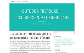 outdoor-treasure.de Webseiten Screenshot