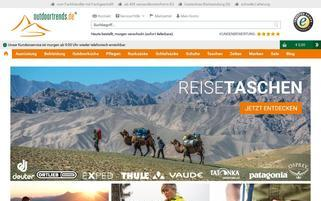 Outdoortrends Webseiten Screenshot