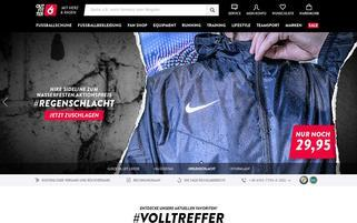 Outfitter Webseiten Screenshot