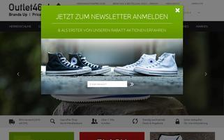 Outlet46 Webseiten Screenshot