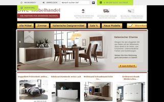 OWL Möbelhandel Webseiten Screenshot