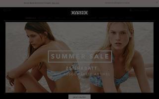 Oysho Webseiten Screenshot