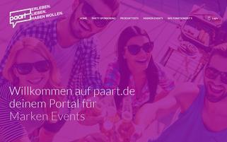 PAART Webseiten Screenshot