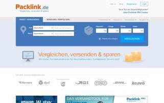packlink.de Webseiten Screenshot