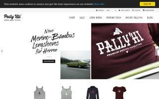 Pally'Hi Webseiten Screenshot