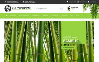 Palmenmann Webseiten Screenshot