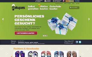palupas Webseiten Screenshot
