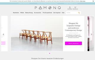 pamono.de Webseiten Screenshot