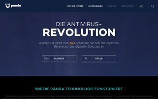 Panda Security Webseiten Screenshot