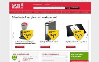 Papersmart Webseiten Screenshot