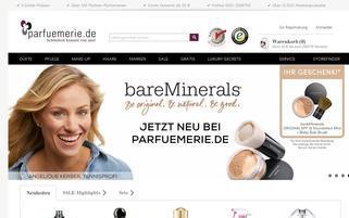 Parfuemerie.de Webseiten Screenshot