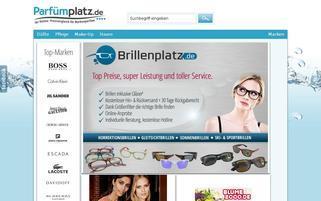 Parfümplatz Webseiten Screenshot