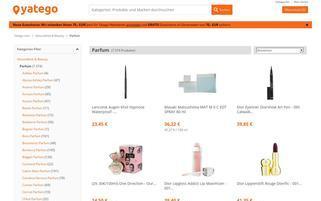 ParfumDEAL Webseiten Screenshot