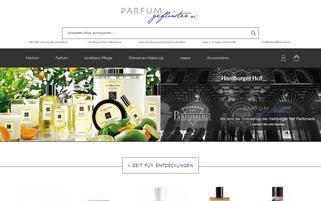 PARFUMgeflüster Webseiten Screenshot
