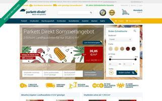 parkett-direkt.net Webseiten Screenshot