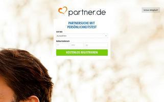 Partner.de Webseiten Screenshot