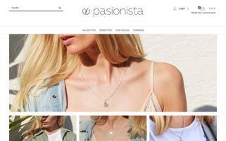 Pasionista Webseiten Screenshot