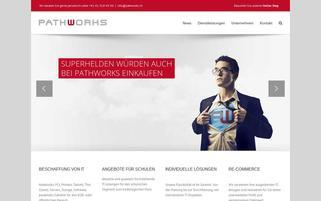 Pathworks Webseiten Screenshot