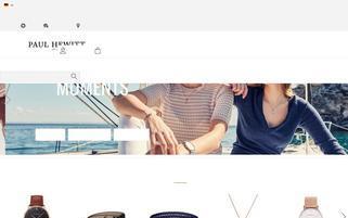 Paul Hewitt Webseiten Screenshot