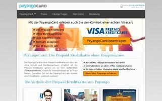 Payango Webseiten Screenshot
