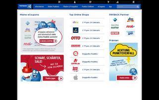 PAYBACK Webseiten Screenshot