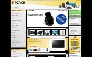 PCP.CH Webseiten Screenshot