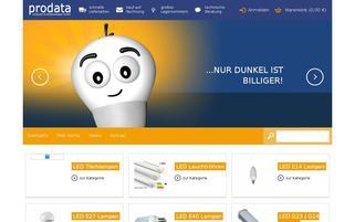 pdshop.de Webseiten Screenshot
