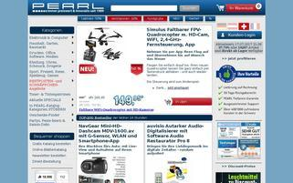 Pearl CH Webseiten Screenshot