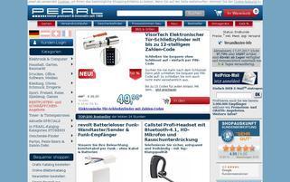 PEARL Webseiten Screenshot