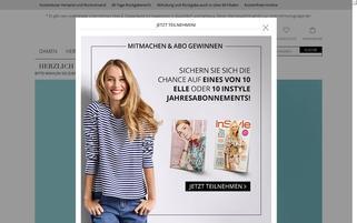 Peek und Cloppenburg* Webseiten Screenshot