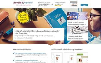 peopleatventure.de Webseiten Screenshot