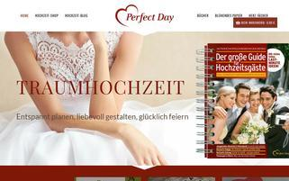Perfect Day Webseiten Screenshot