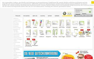 perfectPRINTS Webseiten Screenshot