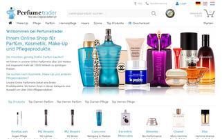 Perfumetrader Webseiten Screenshot
