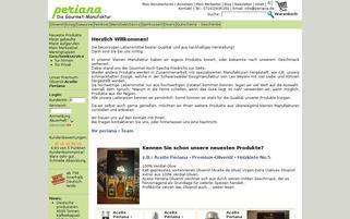 Periana Webseiten Screenshot
