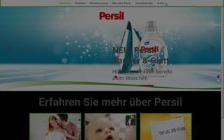 Persil Webseiten Screenshot