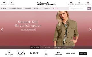 Peter Hahn AT Webseiten Screenshot