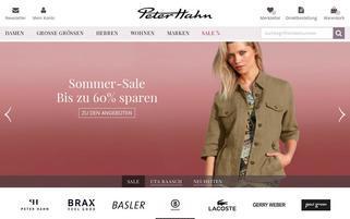 Peter Hahn Webseiten Screenshot
