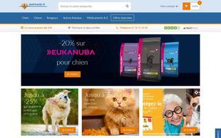petmeds.fr Webseiten Screenshot