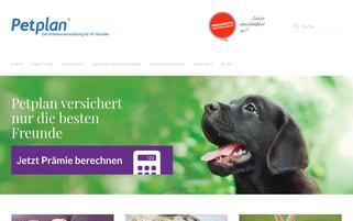 petplan.de Webseiten Screenshot