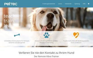 pettec.de Webseiten Screenshot