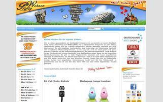 Pfiffig-Wohnen.de Webseiten Screenshot