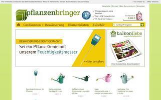 pflanzenbringer.de Webseiten Screenshot