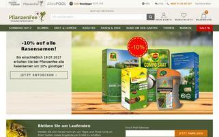 PflanzenFee Webseiten Screenshot